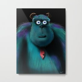 sulley  Metal Print
