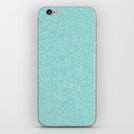 Melange - White and Verdigris iPhone Skin