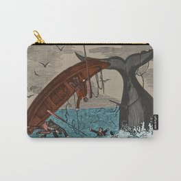 Whalers  Vintage Ocean Art Carry-All Pouch