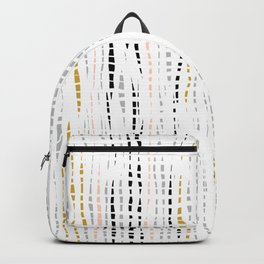 Bohemian Weave Pattern #abstract   Backpack