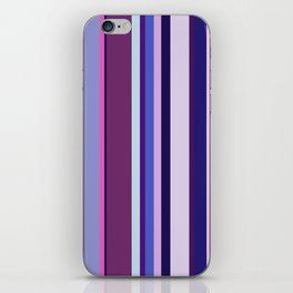 Stripes in colour 8 iPhone Skin