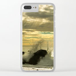 Big Sur, CA. Clear iPhone Case