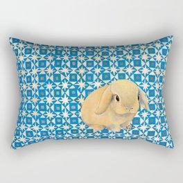 Charlie the Rabbit Rectangular Pillow