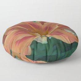 Botanical Florals Zencolor1 Floor Pillow