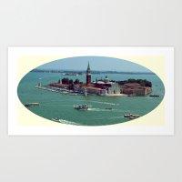 San Giorgio Maggiore. Venice. Art Print