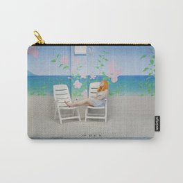holly as me (indoor pool) Carry-All Pouch