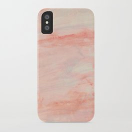 Dramaqueen - Pink Marble Poster iPhone Case