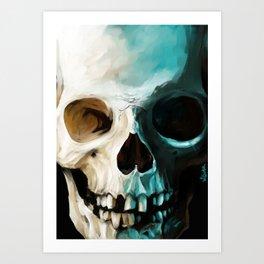 Skull 14 Art Print