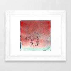 AT-AT migraine Framed Art Print