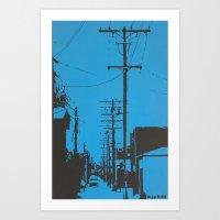 CALI Art Print