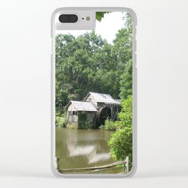 Picturesque Marby Mill Clear iPhone Case