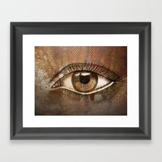 Refracted Canvas Framed Art Print