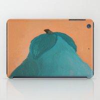 pear iPad Cases featuring Pear by seekmynebula
