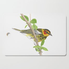Cape May Warbler Cutting Board