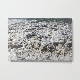 Bubbly Metal Print