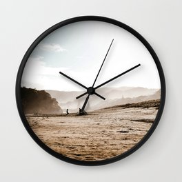 The Lonely World Wall Clock