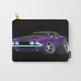 Classic Muscle Car Cartoon Carry-All Pouch