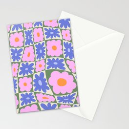 Floral seven Stationery Cards
