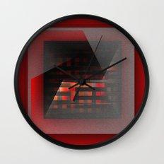 Color wrap Wall Clock