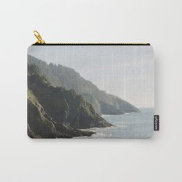 Cape Perpetua - Oregon Coastline - Fine Art Travel Photography Carry-All Pouch