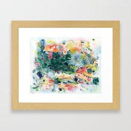 """""""Jitter"""" Mixed Media Framed Art Print"""