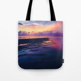 Maldivian sunset 5 Tote Bag
