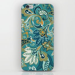 I Fall For Autumn Paisley - Everyday Colorway iPhone Skin