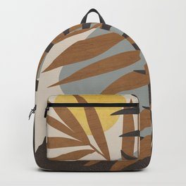 Abstract Tropical Art IV Backpack