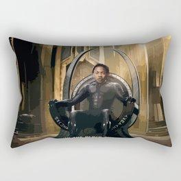 Kendrick - Watch The Black Throne Rectangular Pillow