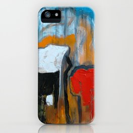 A Putty Mess Emerges iPhone Case