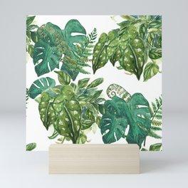 A Pattern of Plants Mini Art Print
