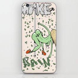 Make it Rain. iPhone Skin