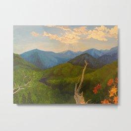 My Mountains Metal Print