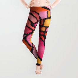 Sunset Soiree Medallion Leggings