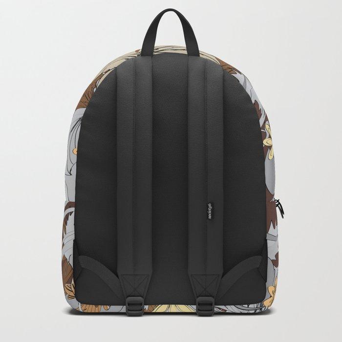 Sketch Garden IX Backpack