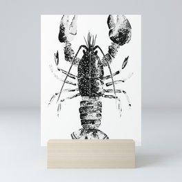 Hello lobster Mini Art Print