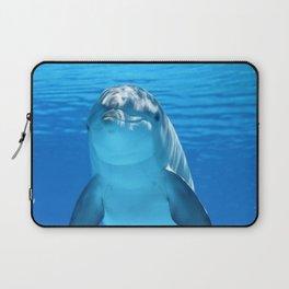 Deep Blue Dolphin Laptop Sleeve