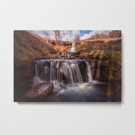 Blaen y Glyn waterfalls Metal Print