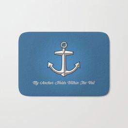 Anchors Aweigh (blue) Bath Mat