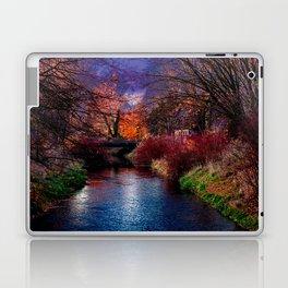 Concept Baden-Wuerttemberg : River Rottum through Laupheim Laptop & iPad Skin