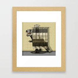 I want to take a bath Framed Art Print