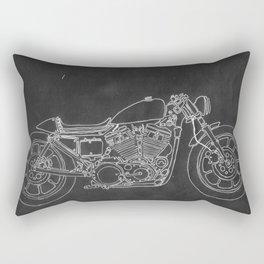 Thunder Bike Rectangular Pillow