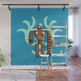Christmas Laputa Robot Wall Mural