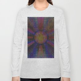 Surya Invocation (Sun) - Magick Square Yantra Tantra Long Sleeve T-shirt