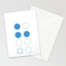 Zen Circle Stationery Cards