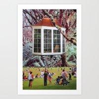 window Art Prints featuring Window by John Turck