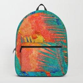 Vibrant jungle for Frida Backpack