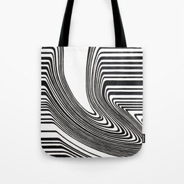 Spilled barcode Tote Bag