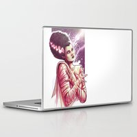 princess bride Laptop & iPad Skins featuring BRIDE by Lorena Carvalho