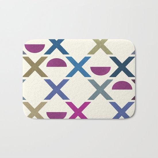 Abstract Unique Pattern Bath Mat
